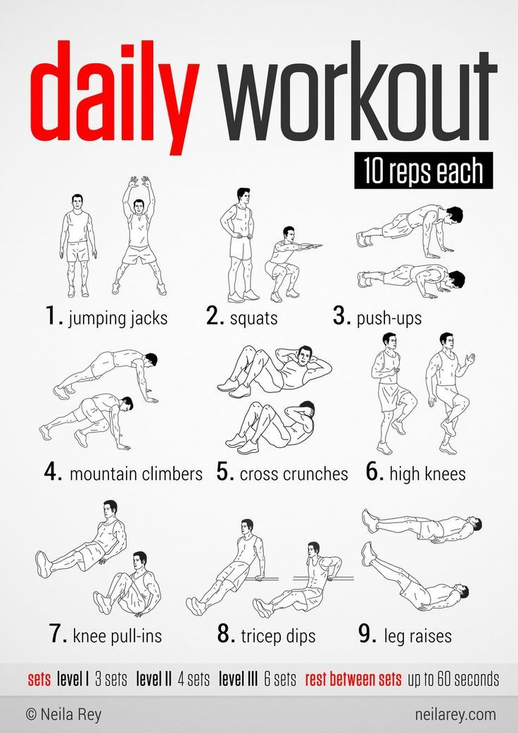 weight loss daily workout plan   sport1stfuture org