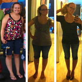 before and after phentermine